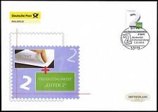 BRD 2013: Neue Ergänzungsmarke! Post-FDC der selbstklebenden Nr. 3045! 1801