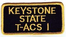KEYSTONE STATE - U.S. MILITARY SEALIFT COMMAND PATCH