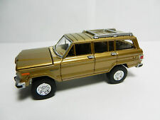 Johnny Lightning Gold *1981 Jeep WAGONEER* 4x4 Chrysler Diecast Toy