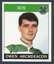 PANINI FOOTBALL 89-#348-CELTIC-OWEN ARCHDEACON