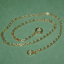 Chain Anklet Custom made to your size 14kt Gold Filled Fine 1.5x2mm Flat Cable