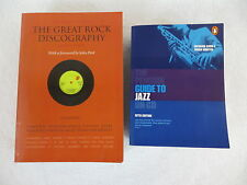 Lot of 2 THE PENGUIN GUIDE TO JAZZ & THE GREAT ROCK DISCOGRAPHY Softcovers