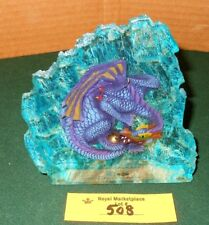 Winter Dragon In Rock Crystal High Detailed Resin