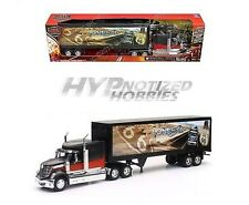 NEWRAY 1:32 INTERNATIONAL LONESTAR WITH ROUTE 66 DESIGN DIE-CAST BLACK SS-13433