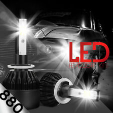 XENTEC LED HID Foglight kit 880 White for 2001-2002 Chevrolet Silverado 1500 HD