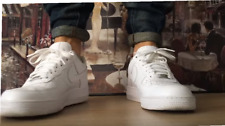 """MEN'S SHOES AIR-FORCE ONE LOW ATHLETIC SNEAKER WHITE 1'""""07 STYLE SIZE 8 US"""