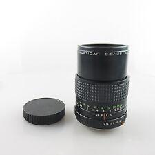 Für Praktica B Serie Zeiss Prakticar 3.5/135 MC Objektiv / lens