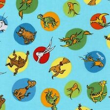 Robert Kaufman What Pet Should I Get? by Dr. Seuss 16491 267  Cotton Fabric BTY