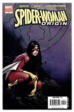 SPIDER-WOMAN: ORIGIN #1(2/06)OLIVIER COIPEL VARIANT COVER(AVENGERS)(CGC IT)9.6!!