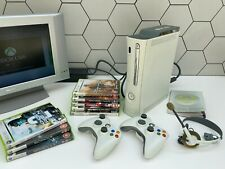 Xbox 360 Console, Arcade Bundle 8x Games, 2x Controller, Headset Great condition