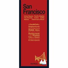 Red Maps San Francisco CURRENT EDITION - City/Travel