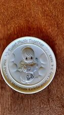 Precious Moments Rare Autographed Tweet Music Together Medallion