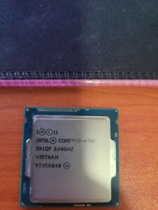 Intel I7 4790 3.60ghz 4th Gen 1150 Socket Cpu Processor