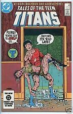 Teen Titans 1980 series # 45 near mint comic book