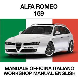 ALFA ROMEO 159. Service Manuale Officina riparazione Workshop ITALIANO ELEARN