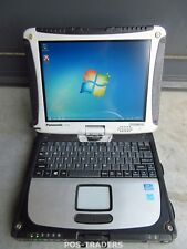 "Panasonic CF-19 MK7 Win7 I5 3,2Ghz 8GB 120GB SSD GPS GPRS 10.1"" Touch Toughbook"