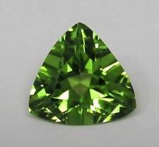 Natural Peridot 6.35 ct Trillion Bright Top Green Gem