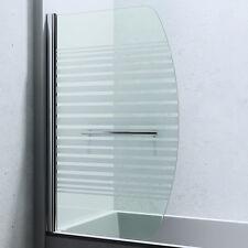 Dusche Duschabtrennung Badewannenaufsatz Badewannen-Faltwand Glaswand Cortona