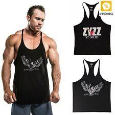 Tank Top Vest Fitness Bodybuilding Muscle Shirt Stringer Gym Clothing Sportswear