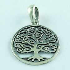 TREE OF LIFE 925 STERLING SILVER PENDANT RETAILER SILVEX IMAGES INDIA