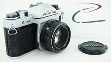 RARE HARD TO FIND PENTAX K1000 SE DIAMOND PATTERN LEATHERETTE w50mm f/2 LENS