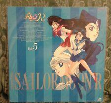 SAILOR MOON R VOL. 5 LASER DISC LD ORIGINALE GIAPPONESE TOEI ANIME NTSC JAPAN
