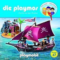 DIE PLAYMOS - (47) FLUCHT VOR DEN PIRATEN  CD NEU