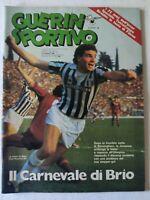 GUERIN SPORTIVO 10/1983 + POSTER CESENA ASTON VILLA REAL MADRID FILM CAMPIONATO