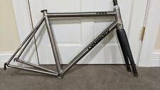 Lynskey R350 Titanium Road Bike Frameset Size M/L 56.5 ENVE Fork Cane Creek