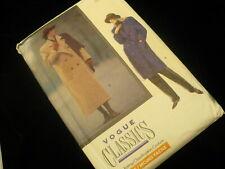 Vogue Classics coat scarf  No 7596  size 12 - 16 average sewing rating