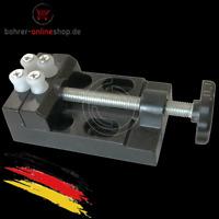 60mm mini Aluminium Schraubstock mit Kunststoff Uhrmacher