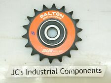 "Sprocket   40 pitch  18 tooth   1/2"" bore   ball bearing idler   Dalton 103-1/2"