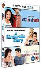 WHAT A GIRL WANTS /CINDERELLA STORY /CHASING LIBERTY, Ellen NEW UK REGION 2 DVD