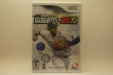 Major League Baseball 2K10 (Nintendo Wii, 2010)