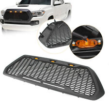 Front Bumper Raptor Style Grille for 2016-2018 Toyota Tacoma w/LED Light