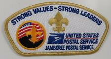 2001 National Boy Scout Jamboree US Post Office JSP YEL BDR [P014]