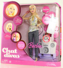 Mattel - Barbie Doll - 2006 Chat Divas Barbie *NM Box*