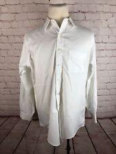 Brooks Brothers Men's White Non Iron Dress Shirt 16 34 $125