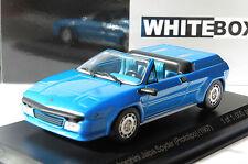 LAMBORGHINI JALPA SPYDER PROTOTIPO TOPIT METAL BLUE 1987 WHITEBOX WB511 1/43