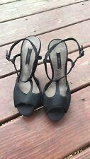 Zara Sandals Black Size 36
