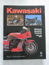 Kawasaki 1961 - 1991 Historie Modelle Technik Nitschke/Barke Motorbuchverlag