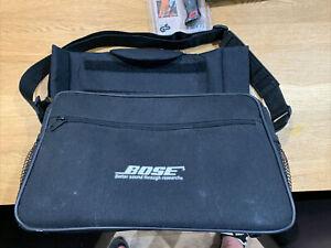 Genuine original Bose series one sound dock padded carry bag