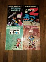French Graphic Novels Comics - Spirou et Fantasio 36 - 39 Tome & Janry - Dupuis