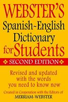 Websters Spanish-English Dictionary for Students,