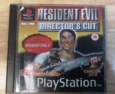Resident Evil: Director's Cut - PS1 Playstation 1 - Black Label No Manual
