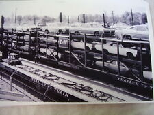NEW 1967  PONTIAC  CARS ON TRAIN  GTO OTHERS    11 X 17  PHOTO  PICTURE
