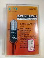 BASI MUSICALI IN TONALITA ORIGINALE DISCO DANCE 70 N°1 MUSICASSETTA MC 170669-4