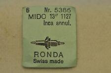 N.3 assi bilanciere Mido cal.1127