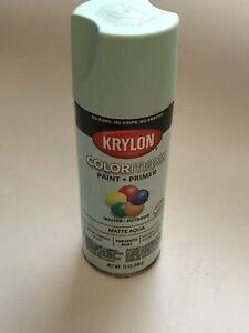 Krylon 5549 Colormax Paint + Primer Matte Aqua KRY5549