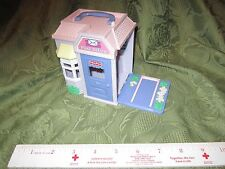 Fisher Price Sweet Street Doll House Building town Post office po mail package